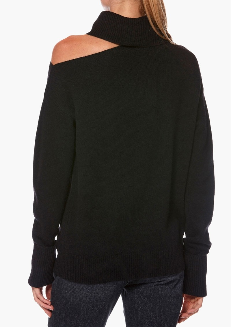 Paige Denim Raundi Turtleneck Jumper - Black main image