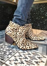 Sam Edelman Walden Ankle Boot - Leopard Sand