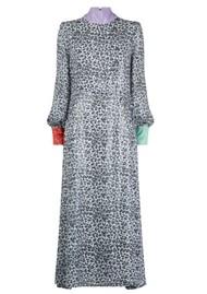 OLIVIA RUBIN Amelie Sequin Dress - Mono Leopard