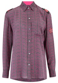 Mercy Delta Exclusive Goodwood Silk Shirt - Captain