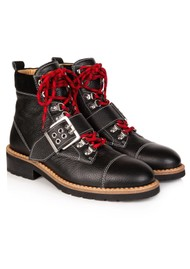 AIR & GRACE Freya Hiking Boot - Black