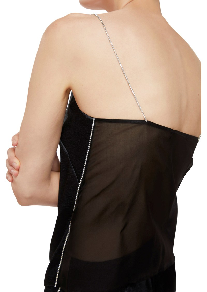 J Brand Lucy Crystal Cami - Black main image