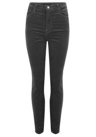 J Brand Leenah Super High Rise Ankle Skinny Velvet Jeans - Sleepwalker