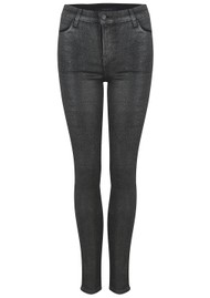 J Brand Maria High Rise Skinny Photo Ready Jeans - Silver Lament