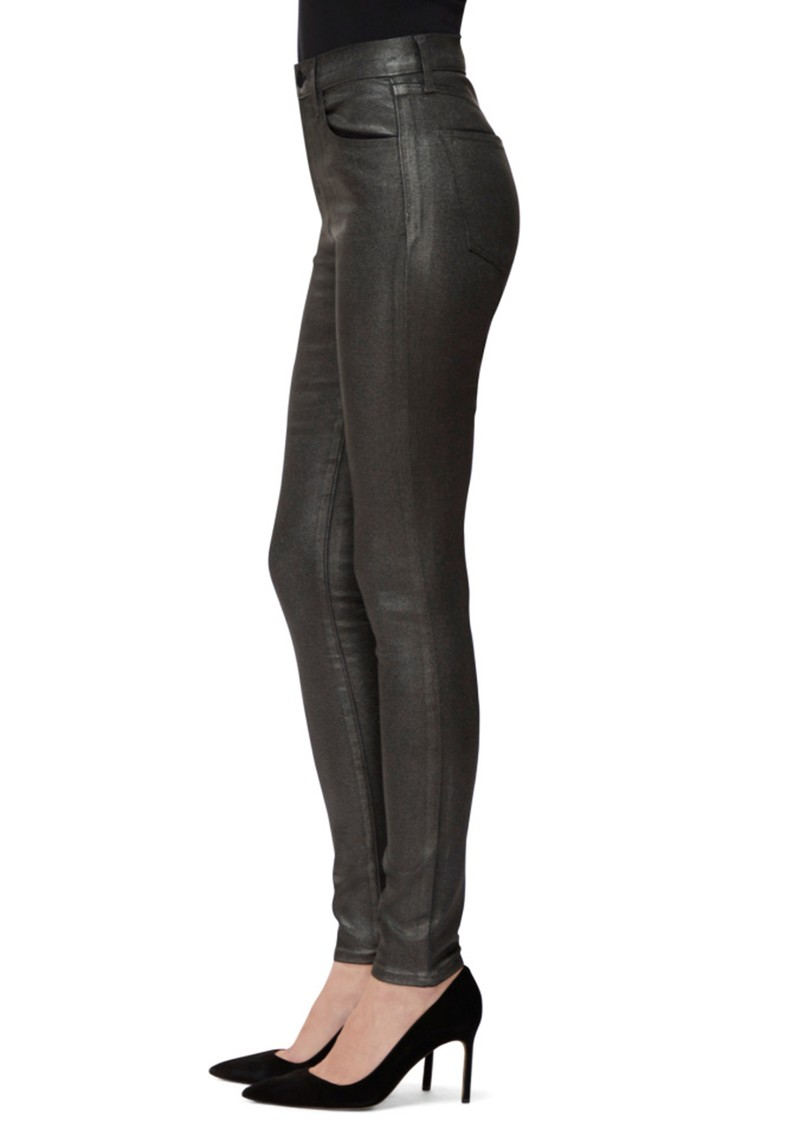 J Brand Maria High Rise Skinny Photo Ready Jeans - Silver Lament main image