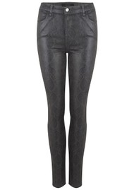 J Brand Maria High Rise Skinny Photo Ready Jeans - Sleepwalk Boa