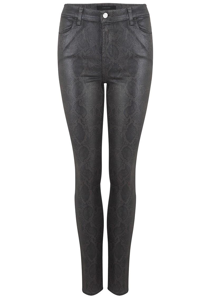 J Brand Maria High Rise Skinny Photo Ready Jeans - Sleepwalk Boa main image