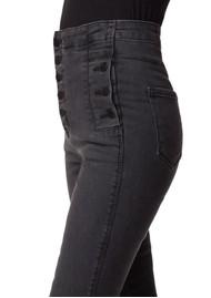 J Brand Natasha Sky-High Cropped Super Skinny Jeans - Vane