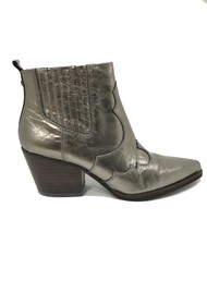 Sam Edelman Winona Western metallic Boot - Brown Sugar