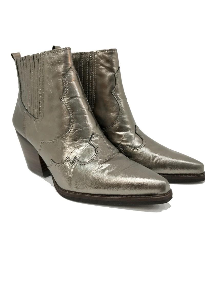 Sam Edelman Winona Western metallic Boot - Brown Sugar main image