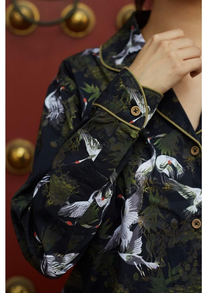 LUNA & NOON Immortal 8 Pyjamas - Midnight Charm main image