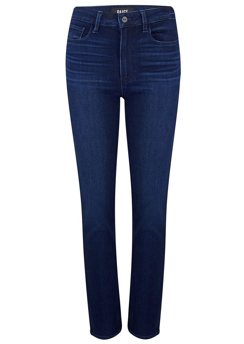 Paige Denim Hoxton High Rise Slim Jeans - Promenade  main image