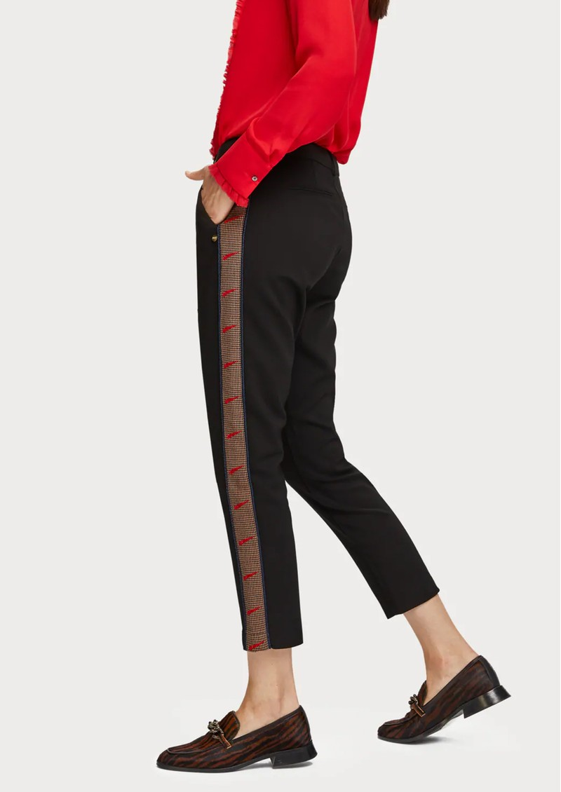 Maison Scotch Side Tape Trousers - Black main image