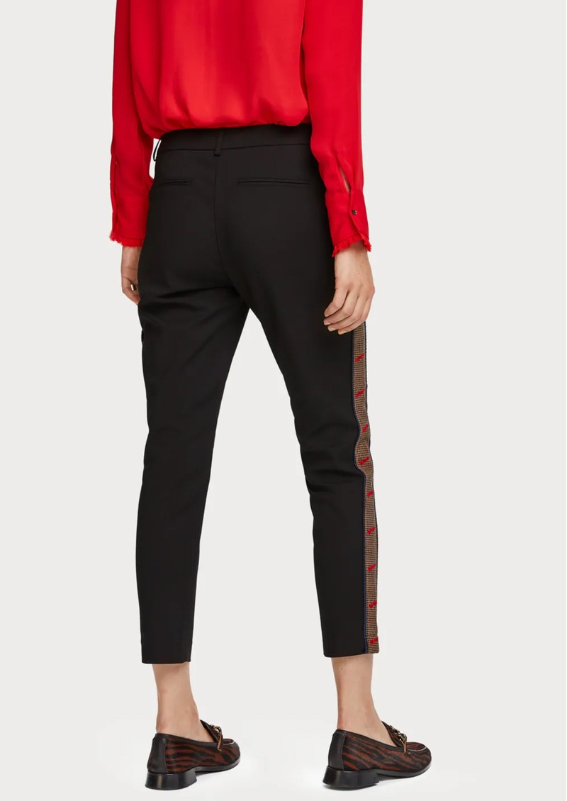 Maison Scotch Side Tape Trousers - Black main image
