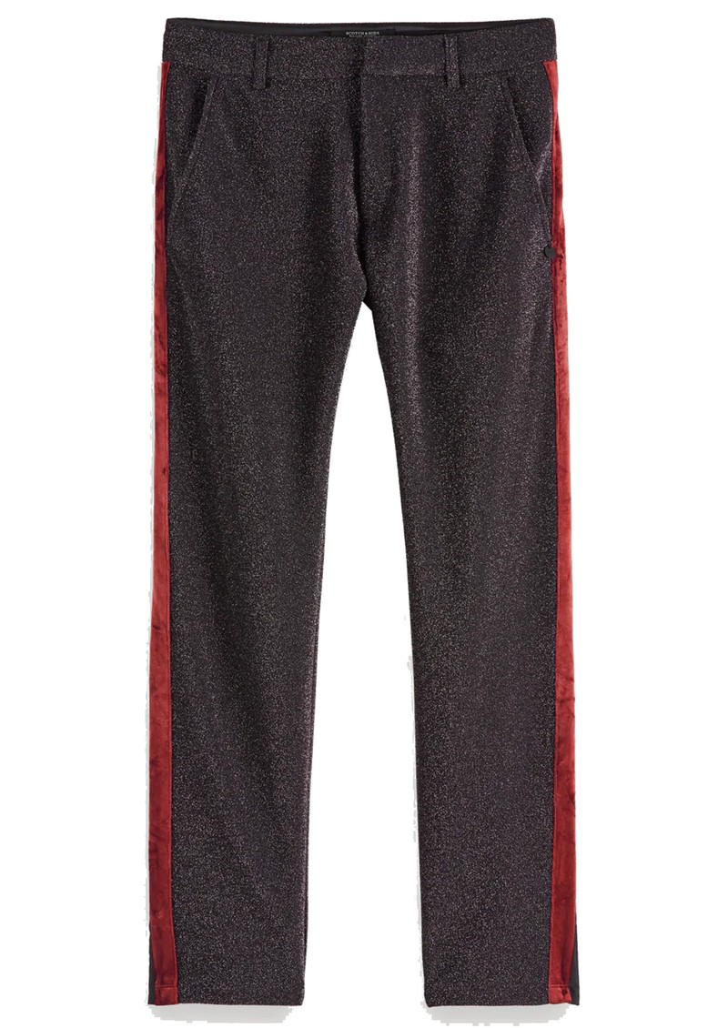 Maison Scotch Lurex Trousers - Black main image