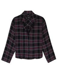 Rails Kellen Pyjama Set - Coal Slate Carmine