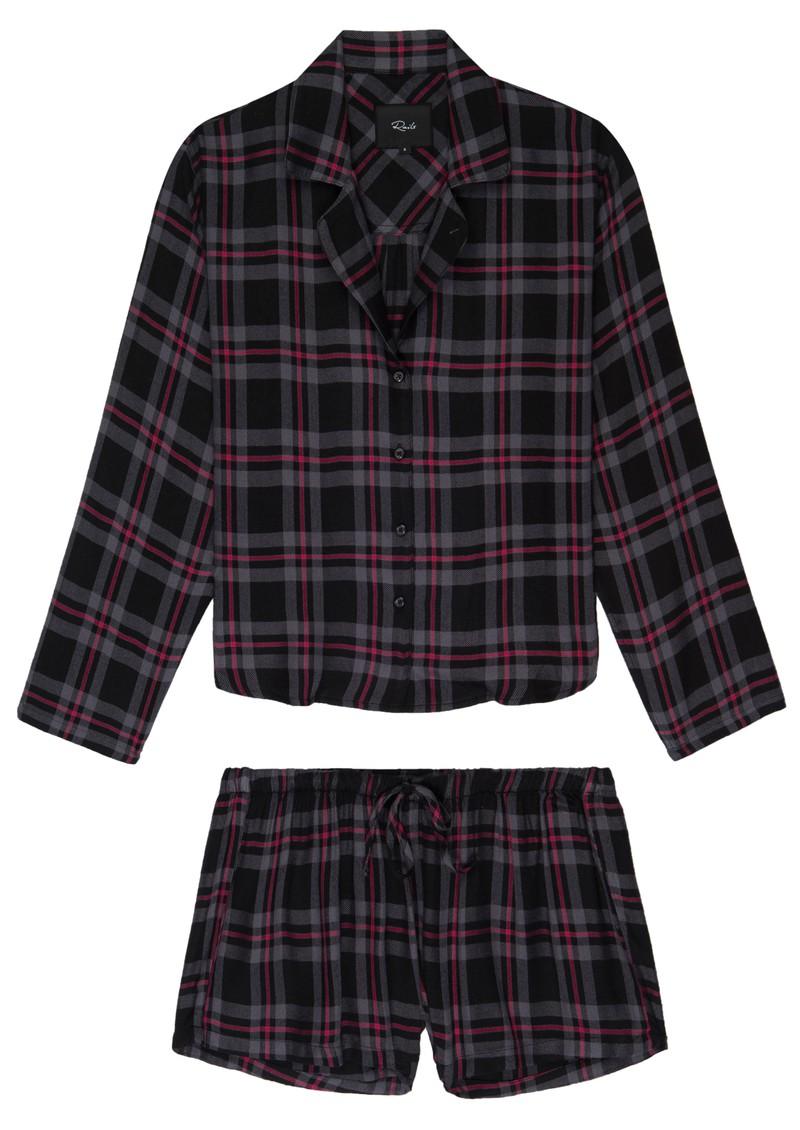 Rails Kellen Pyjama Set - Coal Slate Carmine main image