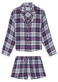 Rails Kellen Pyjama Set - White Midnight Candy