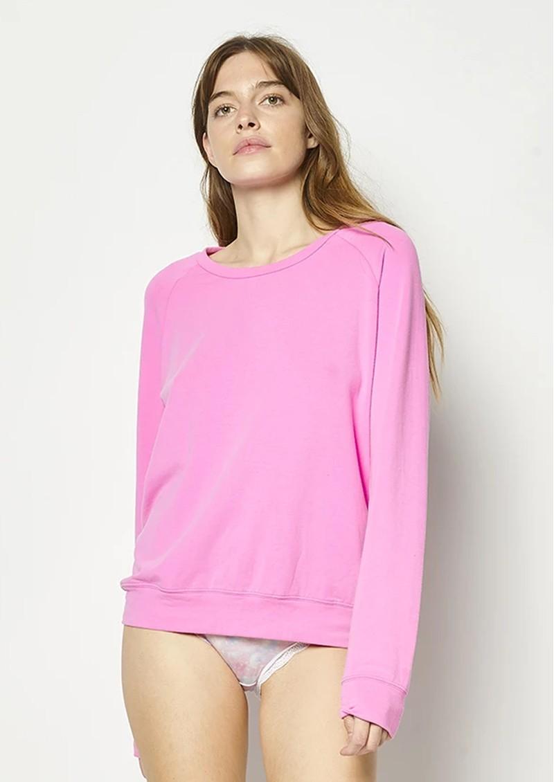 STRIPE & STARE Original Sweatshirt - Hot Pink main image