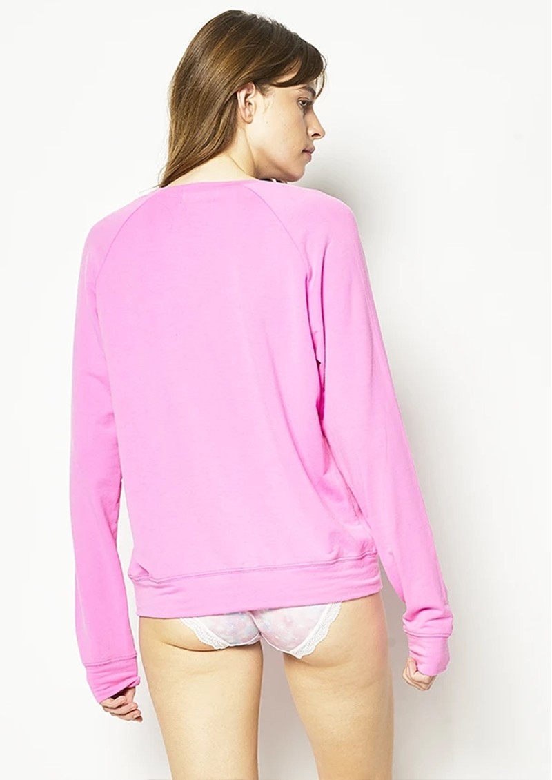 STRIPE & STARE Original Sweatshirt - Hot Pink main image