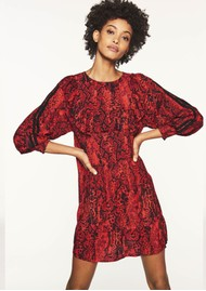 Ba&sh Sym Dress - Red