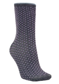 Becksondergaard Dina Small Dots Socks - Purple