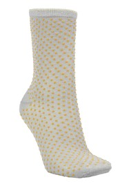 Becksondergaard Dina Small Dots Socks - Honey Yellow