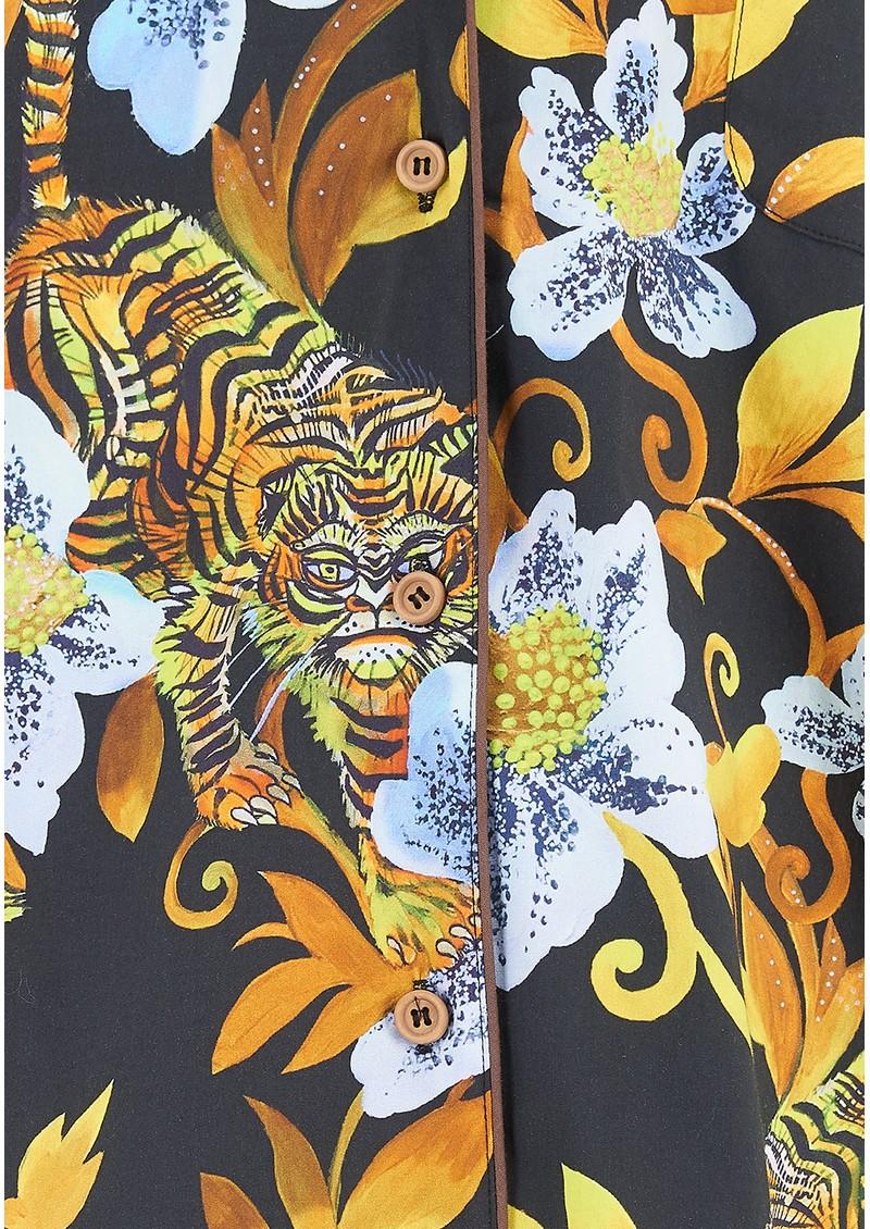 LUNA & NOON Immortal 8 Pyjamas - Majesty Gold main image