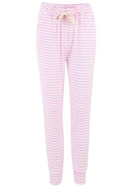 STRIPE & STARE Lounge Pants - Pink Hearts