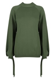 DANTE 6 Lowe Knitted Sweater - Forest Green