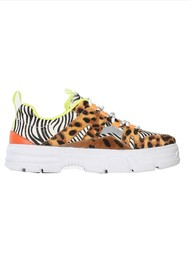 SHOE THE BEAR Gwen Animal Sneakers - Mix