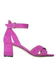 SHOE THE BEAR May Cross Suede Sandals - Purple