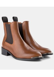 SHOE THE BEAR Ruby Leather Chelsea Boot - Cognac