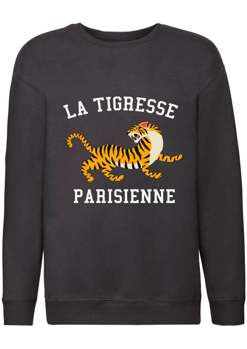 ON THE RISE Bella La Tigresse Parisienne Sweater - Black main image