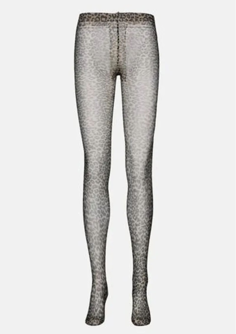 Toro Leopard Tights - Beige  main image
