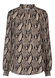 DEA KUDIBAL Faith Tunic - Snake Taupe