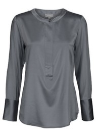 DEA KUDIBAL Hero Silk Tunic - Anthracite
