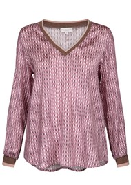 DEA KUDIBAL Harlee Silk Tunic  - Sierra Pink