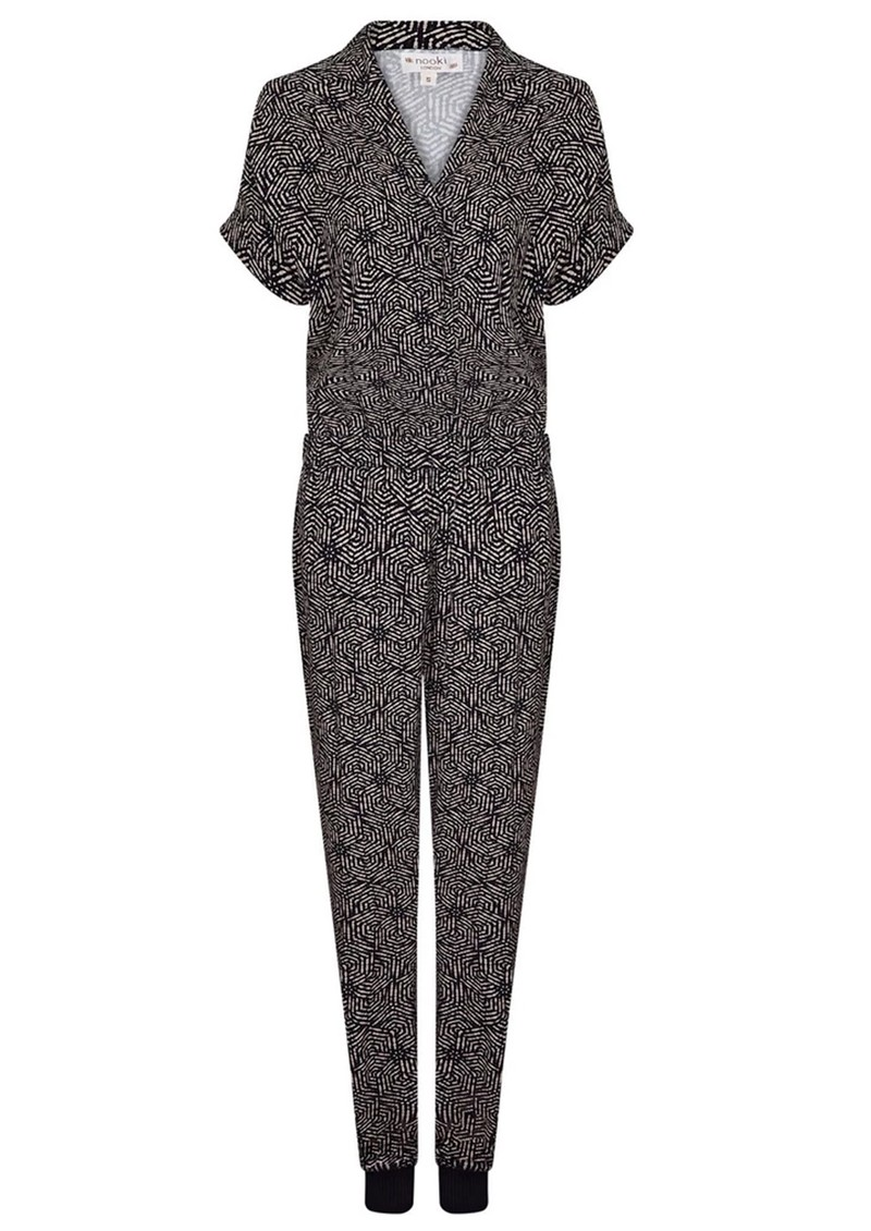 NOOKI Kimie Jumpsuit - Bubble Dot main image