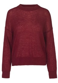 SAMSOE & SAMSOE Maddie O-N Jumper - Biking Red