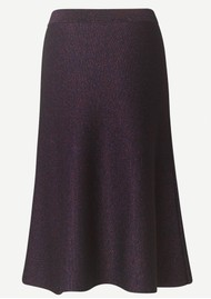 SAMSOE & SAMSOE Maddie Midi Knitted Skirt - Persian Red