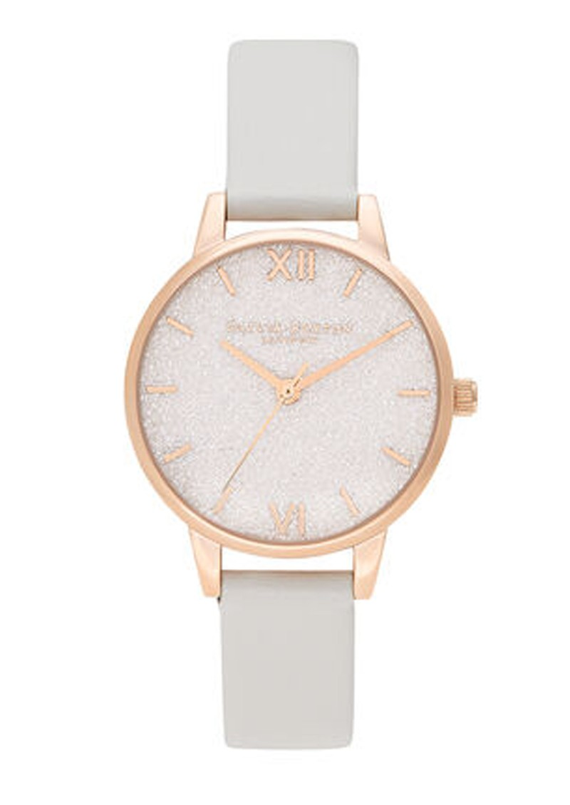 Glitter Vegan Friendly Midi Dial - Blush & Pale Gold main image