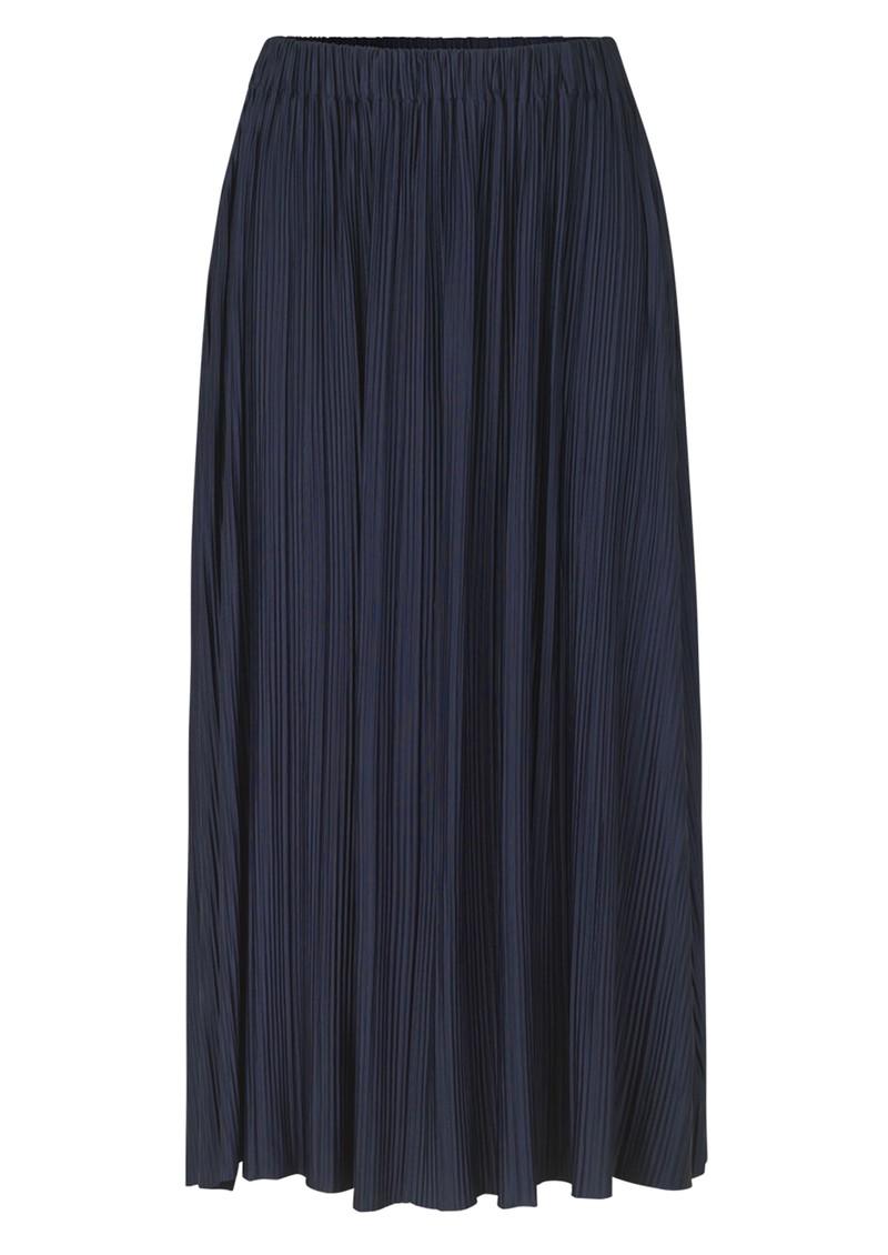 SAMSOE & SAMSOE Uma Long Pleated Skirt - Night Sky main image