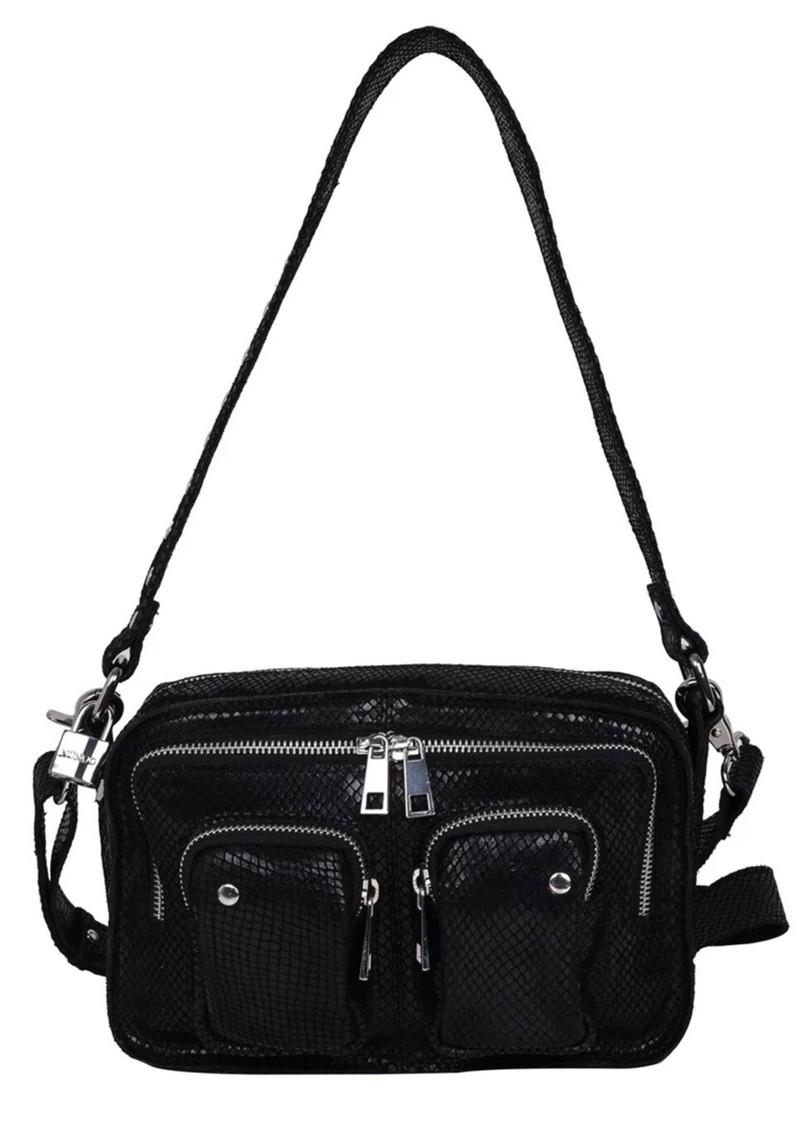 NUNOO Ellie Snake Leather Bag - Black main image