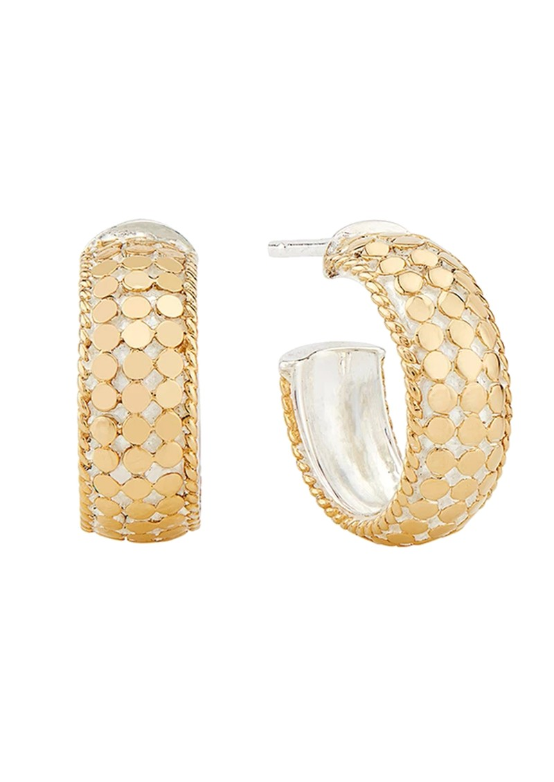 ANNA BECK Small Dome Hoop Earrings - Gold main image