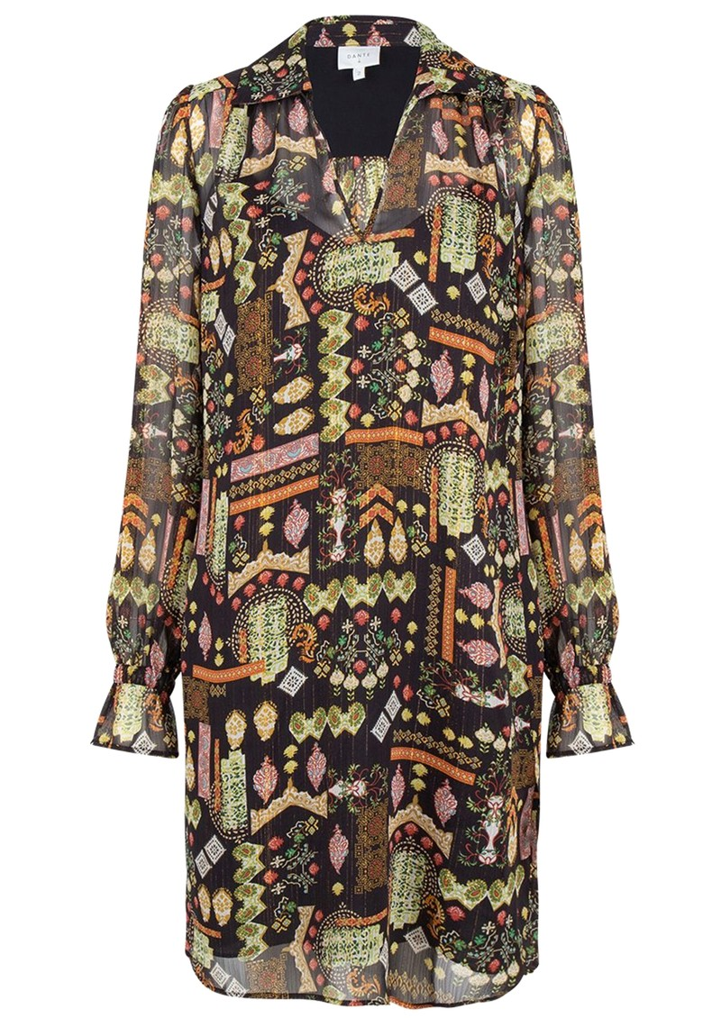 DANTE 6 Idetta Folky Print Dress - Multi main image