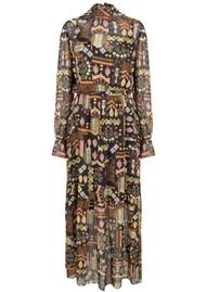 DANTE 6 Valkyrie Folky Long Dress - Multi