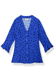 Pyrus Bianca Blouse - Simple Dots
