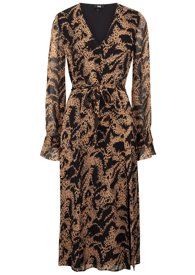 Paige Denim Chamomile Dress - Hyde Black main image