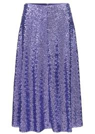 SAMSOE & SAMSOE Henny Sequin Skirt - Aster Purple